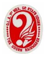 Air Force 1st Weather Group Patch (The Udorn Rainmaker)