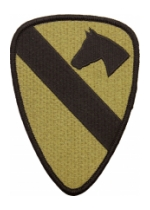 1st Cavalry Division Scorpion / OCP Patch With Hook Fastener