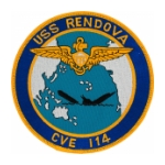 USS Rendova CVE - 114 Patch