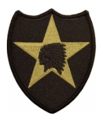2nd Infantry Division Scorpion / OCP Patch With Hook Fastener