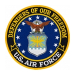 US Air Force Defenders Of Our Freedom Patch
