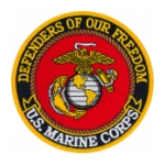 US Marine Corps Defenders Of Our Freedom Patch