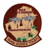 Iraqi Guided Tours Back To Baghdad A Guaranteed Blast Patch