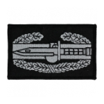 Combat Action Badge Patch Class A (Black and Grey)