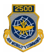 2500 Air Mobility Command Patch with Velcro®