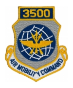 3500 Air Mobility Command Patch with Velcro®