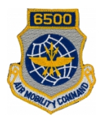 6500 Air Mobility Command Patch with Velcro®