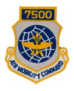 7500 Air Mobility Command Patch with Velcro®