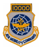 10000 Air Mobility Command Patch with Velcro®