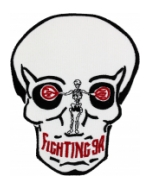 Navy Fighter Squadron VF-9A with Skull Fighting 9A Patch