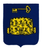 49th Infantry Regiment Patch (Key and Castle)
