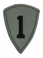 1st Personnel Command Patch Foliage Green (Velcro Backed)