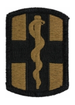 1st Medical Brigade Scorpion / OCP Patch With Hook Fastener