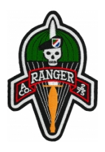 A Company 2/75 Ranger Patch