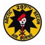 207th Arctic Airborne Recon Patch