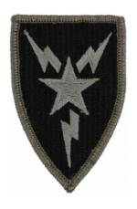 3rd Signal Brigade Patch Foliage Green (Velcro Backed)