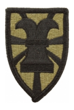 7th Sustainment Brigade Scorpion / OCP Patch With Hook Fastener