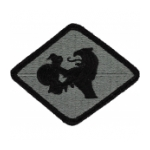 266th Finance Center Patch Foliage Green (Velcro Backed)