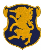 6th Cavalry Regiment Patch