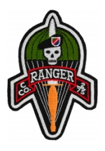 C Company 2/75 Ranger Patch