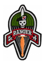 H Company 2/75 Ranger Patch