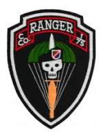 C Company 1/75 Ranger Patch