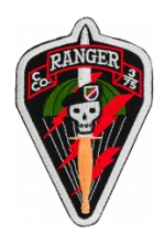 C Company 3/75 Ranger Patch