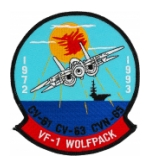 Navy Fighter Squadron Patches (VF)