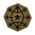 Criminal Investigation Command Scorpion / OCP Patch With Hook Fastener