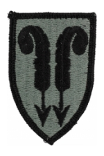 22nd Support Brigade Patch Foliage Green (Velcro Backed)