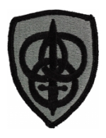 3rd Personnel Command Patch Foliage Green (Velcro Backed)