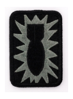 52nd Ordnance Group Patch Foliage Green (Velcro Backed)