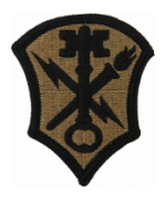 Intelligence & Security Command Scorpion / OCP Patch With Hook Fastener