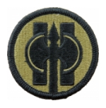 11th Military Police Brigade Scorpion / OCP Patch With Hook Fastener