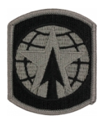 16th Military Police Brigade Patch Foliage Green (Velcro Backed)