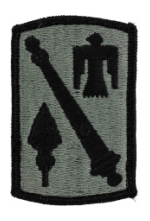 45th Field Artillery Brigade Patch Foliage Green (Velcro Backed)