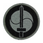 175th Finance Center Patch Foliage Green (Velcro Backed)