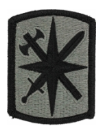 14th Military Police Brigade Patch Foliage Green (Velcro Backed)