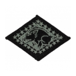 Arkansas National Guard Headquarters Patch Foliage Green (Velcro Backed)