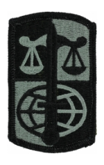 Legal Service Agency Patch Foliage Green (Velcro Backed)