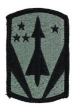 31st Air Defense Artillery Patch Foliage Green (Velcro Backed)