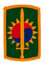 8th Military Police Brigade Patch