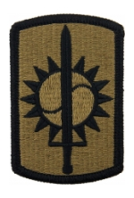 8th Military Police Brigade Scorpion / OCP Patch With Hook Fastener)