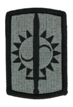 8th Military Police Brigade Patch Foliage Green (Velcro Backed)