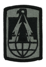 11th Signal Brigade Patch Foliage Green (Velcro Backed)
