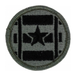 3rd Transportation Agency Patch Foliage Green (Velcro Backed)