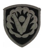59th Ordnance Group Patch Foliage Green (Velcro Backed)