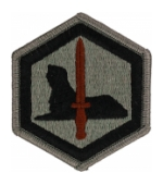 66th Military Intelligence Brigade Patch Foliage Green (Velcro Backed)