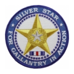 Silver Star Patch