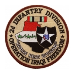 "2nd Infantry Division Operation Iraqi Freedom Patch ""Indian Head Division"